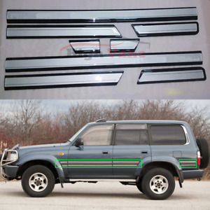 Car Door Anti collision Strips Fit For Toyota Land Cruiser Lc80 4500 1991 1997