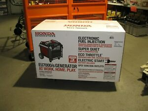 Honda Eu7000 Super Quit 7000 Watt Inverter New Ship To Lower 48 Only