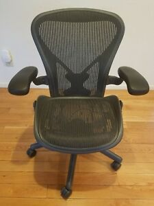Herman Miller Aeron Chair With Posturefit Size B
