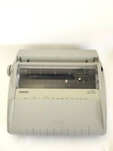 Brother s Electronic Typewriter Gx 6750 Daisy Wheel Correctronic Works Great