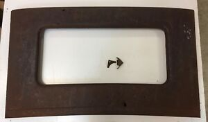 1926 1927 Ford Model T Rear Window Panel One Of A Kind Rat Rod Lots Of Bullets