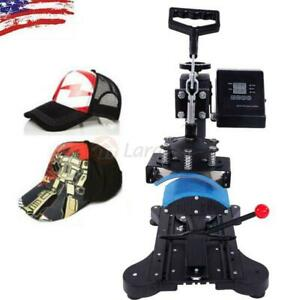 New Digital Hat Cap Heat Press Machine Sublimation Transfer T shirt Mug Printer