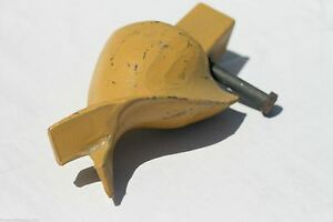 Skid Steer Auger Fishtail Point Square Shank Fits Most Auger Bits