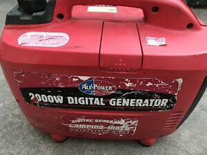 All power America 2000w Digital Inverter Generator Camping Mate For Parts