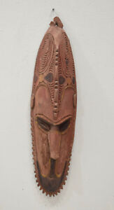 Papua New Guinea Mask Murik Lakes Lower Sepik River Spirit Mask