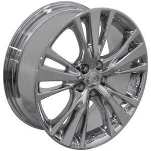 19 Lexus Rx 450 Style Replacement Rims Wheels Pvd Chrome 74254 New Set Of 4