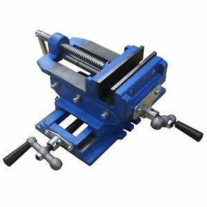 Hfs r 6 Cross Sliding Drill Press Vise Slide Vice Heavy Duty Shop Grip Tools