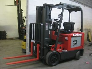 Raymond Electric Forklift 5000 Cap Low Hours Retail Ready Condition sav