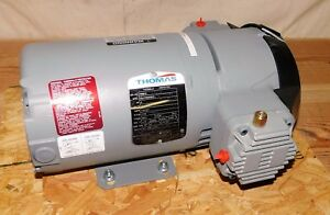 Thomas 270073 Piston Air Compressor 1 2 Hp 115 230vac