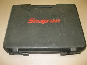 Snap On Plastic Case Case Only No Tools Case Is For A Cordless Screwdriver