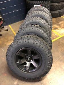 5 17x9 Fuel Beast D564 Wheels 33 Duratrac At Tires Package Jeep Wrangler Jk Jl