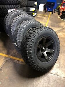 17x9 Fuel Beast D564 Wheels 33 Duratrac At Tires Package Jeep Wrangler Jk Jl