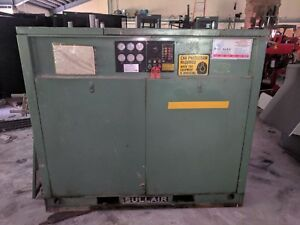 Sullair 12b 50h Wcac Rotary Screw Air Compressor 50 Hp 1780 Rpm 115 Psig 1109hrs