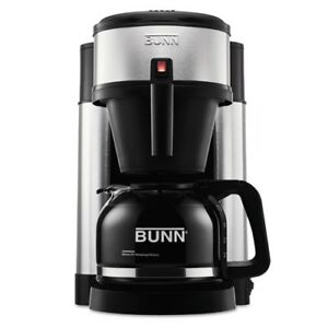 Bunn Professional Home Coffee Brewer With Carafe 10 cup Black