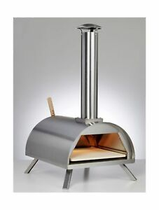 Wppo Wood Fired Pizza Oven Silver