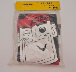 Vintage Hastings Fender Cover No 1043 New Nos Mechanic Garage Mancave Rare Tools