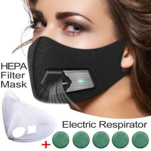 Fresh Air Supply Smart Electric Mask Purifying Anti Pollution N95 For