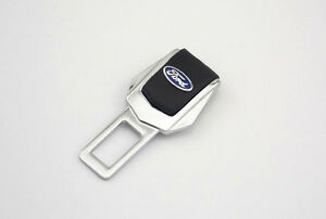 Car Safty Safe Seat Belt Buckle Alarm Stopper End Insert Plug Fit Ford Hq J1p