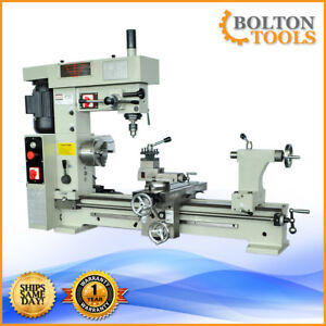 16 X 30 Combo Metal Lathe Mill Drill Bt800