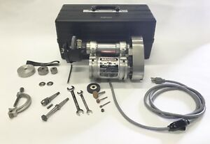 Themac Precision Grinder Type J35 No 5040 115 Volt Many Extras Diamond