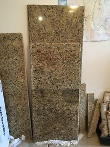 Tropical Brown Granite Countertop Slabs For Kitchen Or Bathroom Vanity
