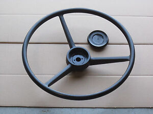 Steering Wheel And Cap For Ih International Farmall 450 460 504 560
