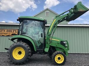 John Deere 3320 4x4 Compact Tractor Loader Heat And Ac Cheap Shipping