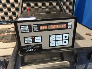 Met One Laser Particle Counter With 085a Probe 237b 3 2080555 11