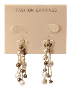 Tan fashion Earrings Earring Cards 3 Cases 100 Per Case