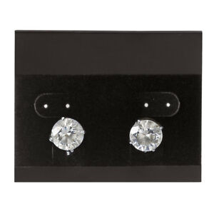 Horizontal Black Velour Earring Cards Case Of 1 000