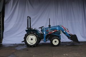 Reconditioned Mitsubishi D2350 28hp Tractor With New Front Loader
