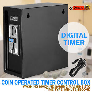 Coin Operated Timer Box To Turn Pc Into Vending Pc Internet Cafe Kiosk