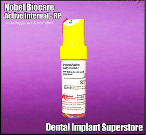 Nobel Biocare Active Internal 4 3 X 10mm Exp 2022 01