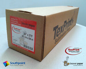 Texprint thermo Tack Adhesive Sublimation Paper Tptky 24 275 3 24 X 275 Roll