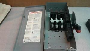 Squared Hu361 Heavy Duty Safety Switch 30a