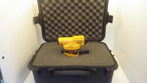 Nikon Ax 1 Automatic Surveyor Level And Case
