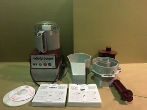 Robot Coupe R2n Commercial Food Processor W 3 Quart Bowl