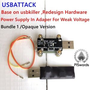 Usbattack High Voltage Pulse Generator Base On Usbkiller Usb Killer Redesign
