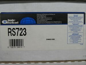 Brand New Bendix Global Rear Brake Shoes Rs723 723 Fits Vehicles On Chart