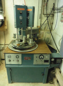 Strasbaugh Bp dc 3 Spindle Polisher 20 Platen
