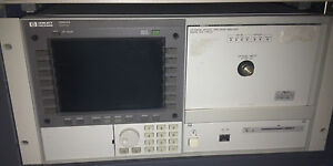 Hp Optical Spectrum Analyzer 70004 70952b 600 To 1700nm Agilent Ando Excellent