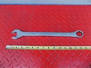 Craftsman Professional 1 1 16 Combination Wrench 12 Pt Sae 44935 Usa Sk Tools
