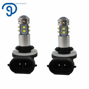 Cree Led Headlight Bulb For Polaris Sportsman Light White High Power 100w 6000k