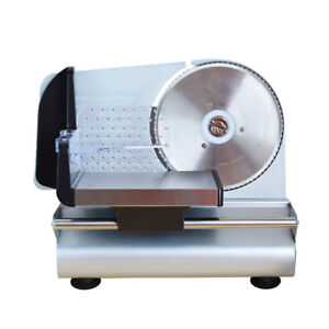 220v Electric Commercial Restaurant Home Steel Cheese Meat Food Cutter Slicer