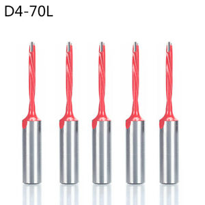 4mm Wood Drill Bit Router Bit Row Drilling For Boring Machine 70mm Length 5pcs