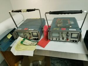2 Tektronix Model 1502 Tdr Cable Tester With Covers P r
