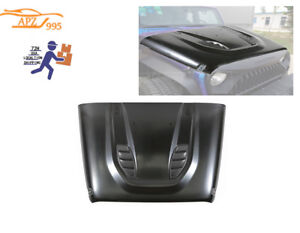 Apz Blk10th Hard Rock Power Dome Style Steel Vent Hood 07 17 For Jeep Wrangler U