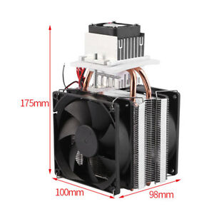 Practical Thermoelectric Peltier Semiconductor Heatsink Cooling System Kit 12v