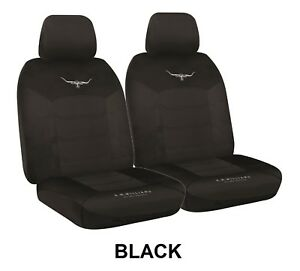 Pair R M Williams Breathable Poly Seat Covers For Pontiac Fiero Rwd Coupe