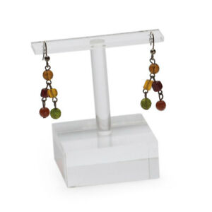 Large Clear Acrylic Earring Holder Case Of 25